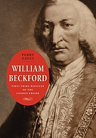 William Beckford : first prime minister of the London empire