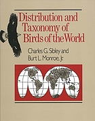 Distribution and taxonomy of birds of the world/ [Hauptbd.].