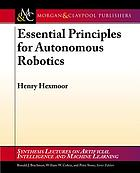 Essential principles for autonomous robotics