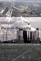 Power density : a key to understanding energy sources and uses