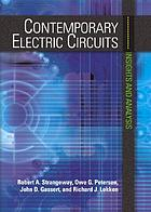 Contemporary electric circuits : insights and analysis