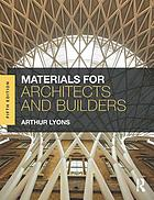 Materials for Architects and Builders.