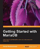 Getting Started with MariaDB.