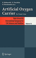 Artificial oxygen carrier : its front line