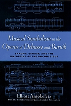 Musical symbolism in the operas of Debussy and Bartók : trauma, gender, and the unfolding of the unconscious