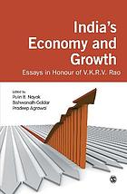 India's economy and growth : essays in honour of V.K.R.V. Rao