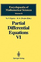 Partial differential equations VI : elliptic and parabolic operators