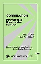 Correlation: Parametric and Nonparametric Measures cover image