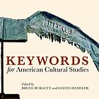 Keywords of American cultural studies