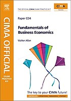 Fundamentals of business economics : CIMA certificate in business accounting
