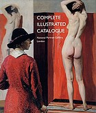 Complete illustrated catalogue : National Portrait Gallery, London