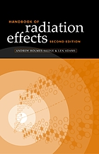 Handbook of radiation effects