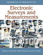 Handbook of Research on Electronic Surveys and Measurements cover image