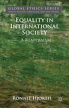 Equality in international society : a reappraisal