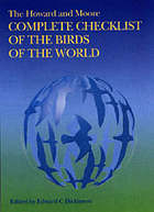 The Howard and Moore complete checklist of the birds of the world.