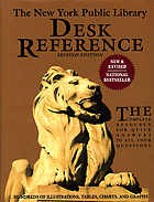 The New York Public Library desk reference.