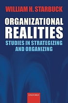 Organizational realities : studies of strategizing and organizing