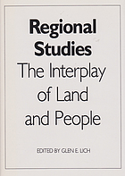 Regional studies : the interplay of land and people