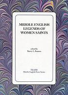 Middle English legends of women saints
