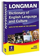 Longman dictionary of English language and culture.