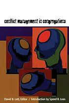 Conflict management in congregations