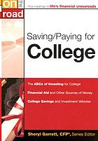 Saving/paying for college