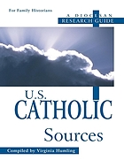 U.S. Catholic sources : a diocesan research guide