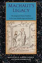 Machaut's legacy : the judgment poetry tradition in the later middle ages and beyond
