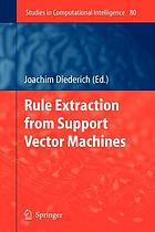 Rule extraction from support vector machines