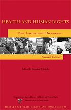 Health and human rights : basic international documents