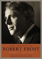 The letters of Robert Frost. Volume 2, 1920-1928