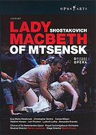 Lady Macbeth of Mtsensk : opera in four acts