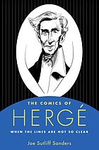 The comics of Hergé : when the lines are not so clear