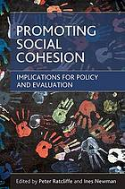 Promoting social cohesion : implications for policy and evaluation