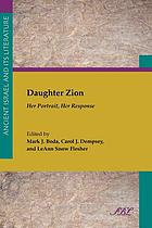Daughter Zion : her portrait, her response