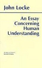 An essay concerning human understanding : abridged and edited, with an introduction and notes