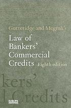 Gutteridge & Megrah's law of bankers' commercial credits