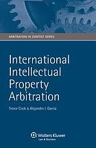International intellectual property arbitration