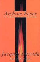 Archive fever : a Freudian impression