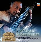 INDIA Vilayat Khan: Night to Remember (A).