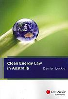 Clean energy law in Australia