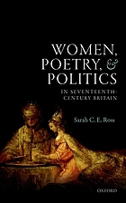 Women, poetry, and politics in seventeenth-century Britain