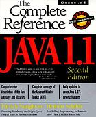 Java 1.1 : the complete reference