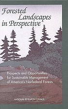 Forested landscapes in perspective : prospects and opportunities for sustainable management of America's nonfederal forests