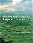 Environmental geology : an earth system science approach