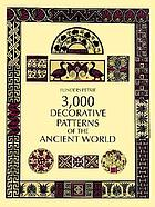 Decorative patterns of the ancient world for craftsmen.