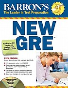 Barron's new GRE Graduate Record Examination