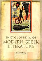Encyclopedia of modern Greek literature