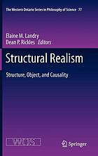 Structural realism : structure, object, and causality