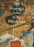 Shipwreck index of the British Isles